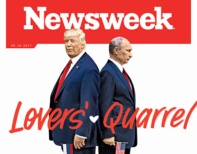 Newsweek Cover Lettering