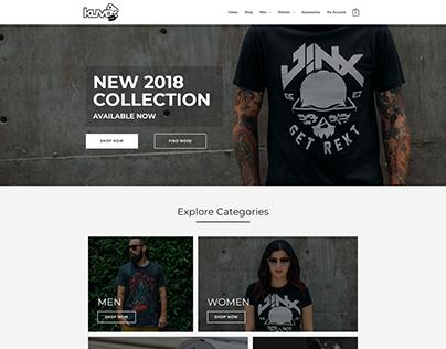 Kuvo Online shop - Ecommerce website
