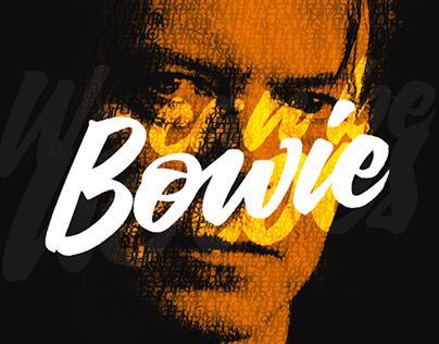 David Bowie Gracias
