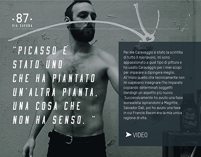 Simone Fugazzotto: story of an artist.