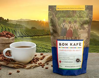 Bon Kafe Branding and Package Design