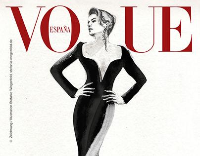 Fashion Illustration / Vogue Cover