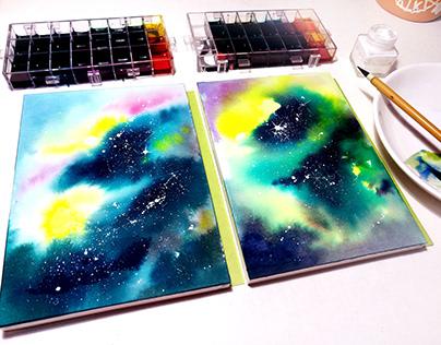 a galaxy journey