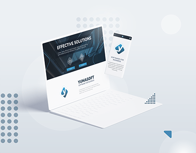 UX | Website + Brand Identity for the IT Company