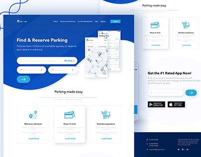 Parking Slot: Design App Concept