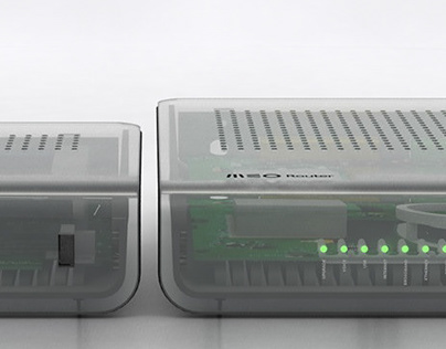 MEO Box, Router & Remote