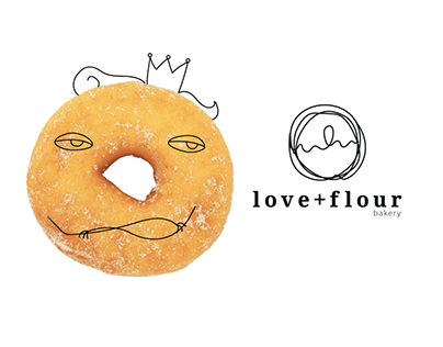 Branding for donuts bakery