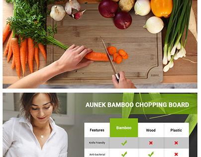 AMAZON EBC done for chopping board.