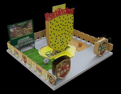 Nido exhibition booth
