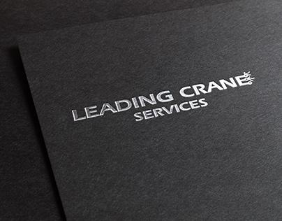 Leading Crane Services Logo design