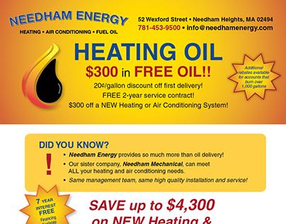 Heating Oil Flyer, Media