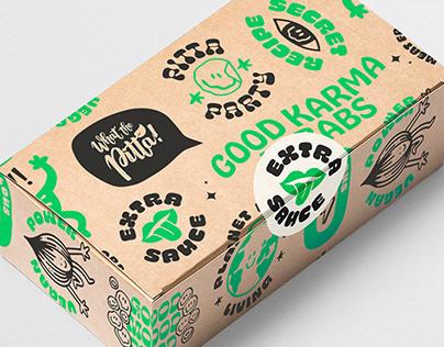 What The Pitta! Branding