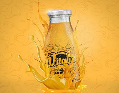 Branding Vitaly bebida