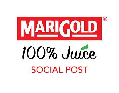 Marigold 100% Juice Social