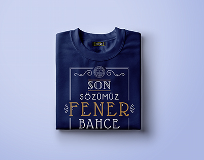 Fenerium Typographic Woman T-Shirt