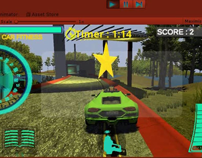 Video Game: Intelligent CAR 3D : Fight For Parking.