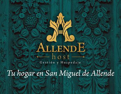 Allende Host Branding