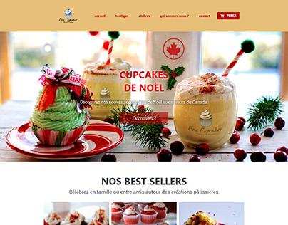 FineCupcakes   Landing page - Partiel DIGITAL CAMPUS