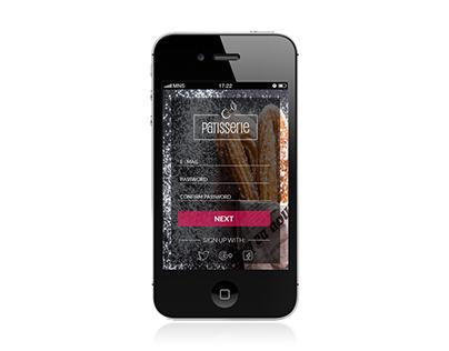 pojekt sklepu w wersji mobilnej