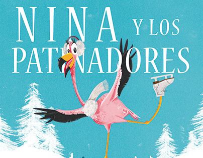 Nina y Los Patinadores - Poster Desing