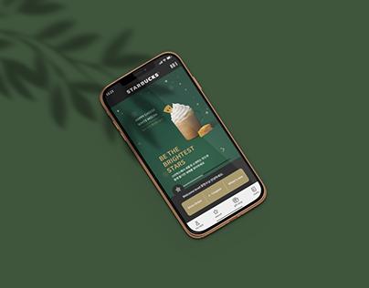 Starbucks APP UI/UX REDESIGN