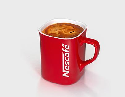 Nescafé - Logo redesign process