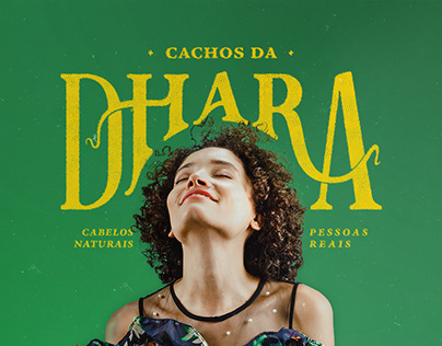 Cachos da Dhara | Brand Identity