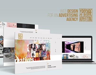 Web Design for an Advertising Agency