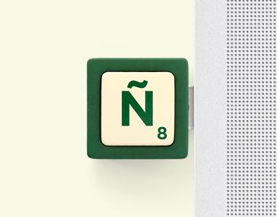 Scrabble / Missing Ñ / Digital