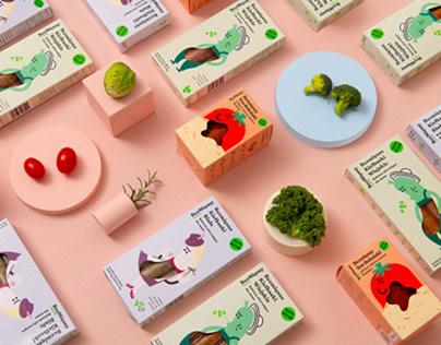 Meatless–packaging