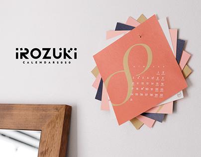 IROZUKI - Calendar 2020