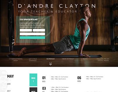 D'Andre Clayton | Yoga Teacher & Educator