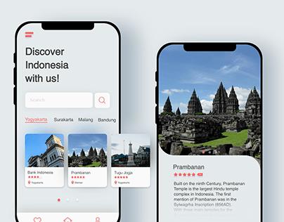 Indonesia tour guide app