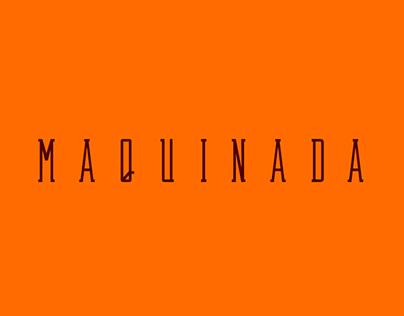 Maquinada Font