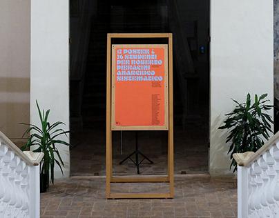 12 Poster per Roberto Pieracini
