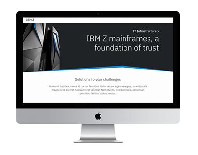 IBM w3DS Ex II