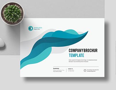 A4 Landscape Company Profile 16 Pages