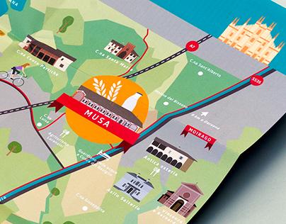 MUSA & MUMAC map and illustrations