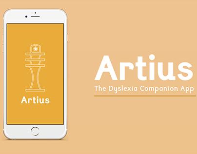 Artius : The Dyslexia Companion App
