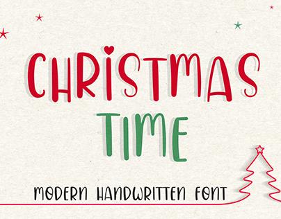 Christmas Time Font