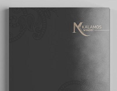 Kalamos Winery - Brochure Design