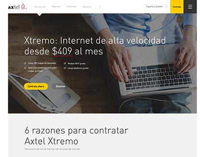 Axtel web