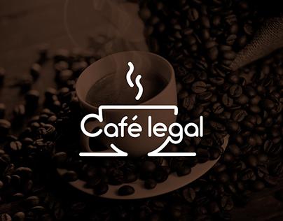 Identidade Visual | Café Legal
