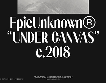 EpicUnknown® A RARE EVENT ©2018