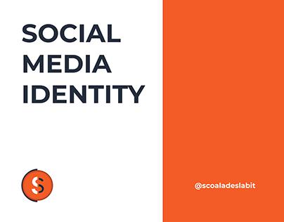 SCOALA DE SLABIT Social Media Identity
