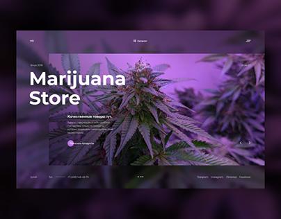 Marijuana Store / Concept