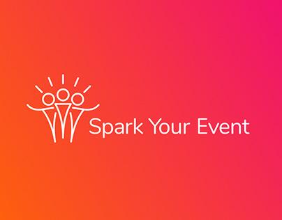 Logo & webdesign: Spark Your Event