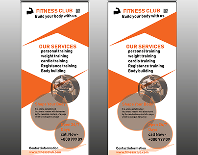 Creative Fitness Club Rollup banner