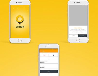 CITYCAB Taxi Booking App