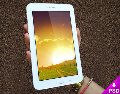 Samsung Galaxy Tab 3 Mockup Freebie